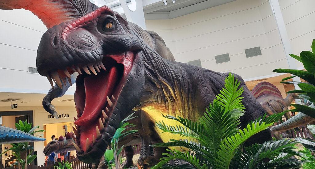 Exposição 'Mundo Jurássico' é atração para o final de semana em Aracaju