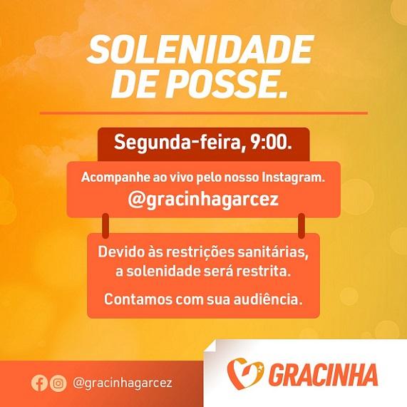 Posse de Gracinha Garcez na Assembleia Legislativa será nesta segunda-feira
