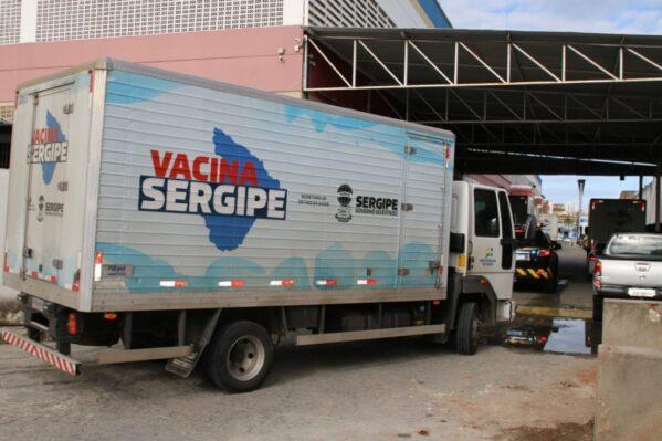 Secretaria de Saúde de Sergipe distribui mais de 91 mil vacinas contra a Covid-19