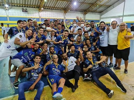 Itaporanga conquista tetracampeonato sergipano de futsal