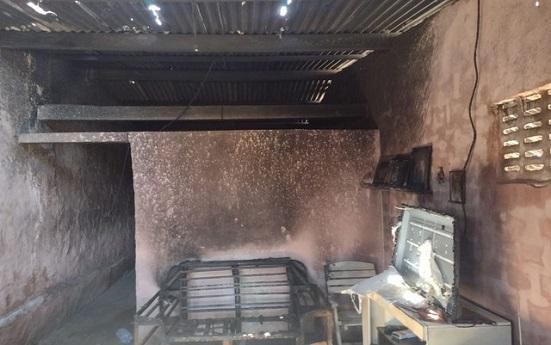 Idosa morre carbonizada dentro de casa no município de São Cristóvão