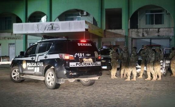 Operação conjunta de combate ao tráfico de drogas e roubo é realizada em 10 cidades de Sergipe; três suspeitos morrem em confronto