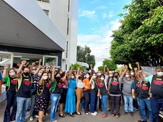 Em Sergipe, mais de 90 auditores fiscais fazem entrega coletiva de cargos de confiança