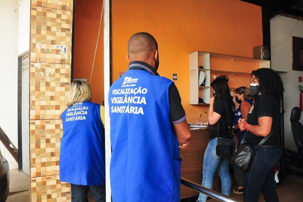Medidas de restrição contra a covid continuam sendo cumpridas pela Vigilância Sanitária em São Cristóvão