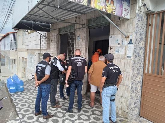 Operação conjunta fiscaliza venda irregular do gás de cozinha em Aracaju